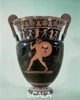 Berlin Painter (6th-5th BCE) Krater with hoplyte