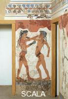 ******** Fresco from Thera: boys boxing