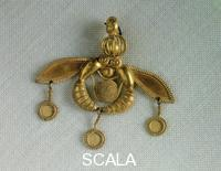 Minoan art Pendant with bees (from Mçlia)