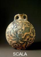 Minoan art Jug decorated with marine motifs