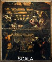 Tintoretto (Robusti, Jacopo 1518-1594) Adoration of the Shepherds