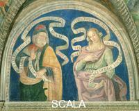 Pinturicchio (workshop) Moses and the Dephic Sibyl