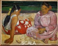 Gauguin, Paul (1848-1903) Women of Tahiti or On the Beach