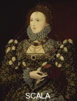 ******** Queen Elizabeth I. circa 1575, associated with Nicholas Hilliard