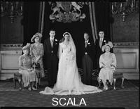 ******** Hon. Gerald David Lascelles; George Henry Hubert Lascelles, 7th Earl of Harewood; King George VI; Maria Donata ('Marion') (ne Stein), Countess of Harewood (later Mrs Jeremy Thorpe); Queen Elizabeth, the Queen Mother; Princess Mary, Countess of Harewood;