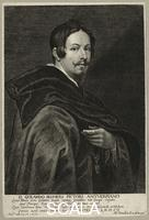 ******** Gerard Seghers by Lucas Vorsterman; Sir Anthony Van Dyck. mid 17th century