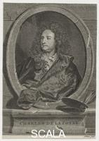 ******** Charles de La Fosse by Anthony Walker; Unknown artist. mid 18th century