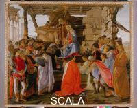 Botticelli, Sandro (1445-1510) Adoration of the Magi, circa 1475