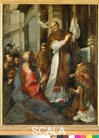 Sacchi, Andrea (c. 1599-1661) Sketch for the Mass of Saint Gregory