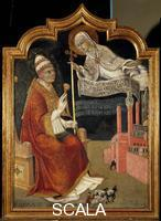 Sano di Pietro (1406-1481) The Virgin Appears to Pope Callistus III