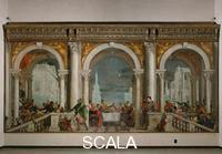 Veronese (Caliari, Paolo called 1528-1588) Feast in the House of Levi