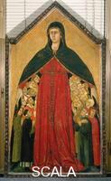 Martini, Simone (1284-1344) Madonna della Misericordia (Madonna of Mercy)