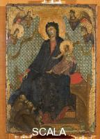 Duccio di Buoninsegna (c. 1260-1318) Madonna dei Francescani (Madonna of the Franciscans)