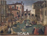 Bellini, Gentile (1429-1507) Miracle of the Cross