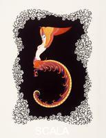 Erte (Romain de Tirtoff, 1892-1990) Number Five, from 'Numerals', 1968