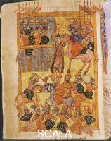 Vardan of Baghech (16th cent.) Ms 1920 f. 295v Gospel: The battle of Avarair 2.6.451, 1569