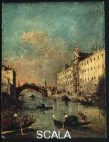 Guardi, Francesco (1712-1793) Rio dei Mendicanti