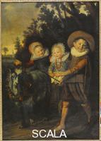 Hals, Frans (c. 1580-1666) Group of Children
