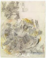 Rauschenberg, Robert (1925-2008) Canto V: Circle One, The Carnal, from the series 'Thirty-Four Illustrations for Dante's Inferno, (1958)
