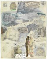 Rauschenberg, Robert (1925-2008) Canto XXIV: Circle Eight, Bolgia 7, The Thieves, from the series 'Thirty-Four Illustrations for Dante's Inferno, (1959-60)