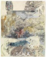 Rauschenberg, Robert (1925-2008) Canto XXV: Circle Eight, Bolgia 7, The Thieves, from the series 'Thirty-Four Illustrations for Dante's Inferno, (1959-60)
