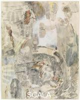 Rauschenberg, Robert (1925-2008) Canto XXVIII: Circle Eight, Bolgia 9, The Sowers of Discord: The Sowers of Religious and Political Discord Between Kinsmen, from the series 'Thirty-Four Illustrations for Dante's Inferno, (1959-60)