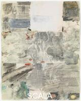 Rauschenberg, Robert (1925-2008) Canto XXIX: Circle Eight, Bolgia 10, The Falsifiers: Class 1, The Alchemists, from the series 'Thirty-Four Illustrations for Dante's Inferno, (1959-60)