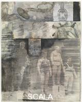 Rauschenberg, Robert (1925-2008) Canto XXXI: The Central Pit of Malebolge, The Giants, from the series 'Thirty-Four Illustrations for Dante's Inferno, (1959-60)