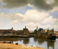 Vermeer, Jan (1632-1675) View of Delft from the Rotterdam Canal