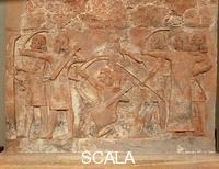 ******** Relief with Assyrian warriors