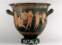 Greek art Krater with group of Argonauts