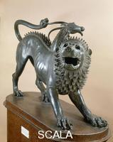 Etruscan art Chimera of Arezzo (front view)