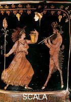 ******** Italiot krater with Pan and Maenads - detail