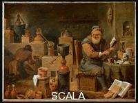 Teniers, David the Younger (1610-1690) The Alchemist