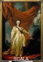 Levitzky, Dimitri (1735-1822) Portrait of Catherine II in the Guise of a Legislator in the Temple of Justice