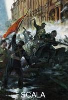 ******** The storming of the Winter Palace, St Petersburg, Russian Revolution, October 1917.