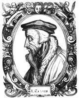 ******** Jean Calvin, French theologian, 1581