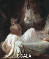 Fuessli, Heinrich (1741-1825) The Nightmare, c. 1790