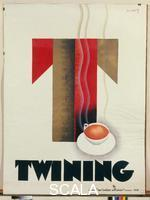 Loupot, Charles (1892-1962) Advertising poster: 'Twining', 1930