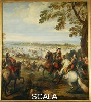 Parrocel, Joseph (1646-1704) The Crossing of the Rhine by the Army of Louis XIV
