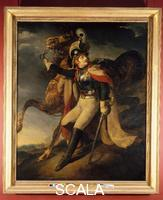 Gericault, Theodore (1791-1824) Officer Leaving the Battlefield