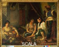 Delacroix, Eugene (1798-1863) Women of Algiers in their Rooms, 1834