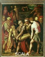 Vasari, Giorgio (1511-1574) Christ Carried to the Tomb