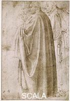 Michelangelo (Buonarroti, Michelangelo 1475-1564) Copy from the Fresco of Santa Maria del Carmine