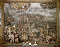 Vasari, Giorgio (1511-1574) and assistants Battle of Lepanto