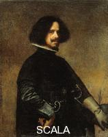 Velazquez, Diego (1599-1660) Self-Portrait, c. 1640 - before restoration