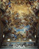 Giordano, Luca (1632-1705) Triumph and Glory of the Habsburgs