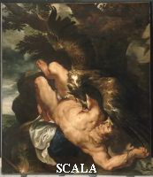 Rubens, Peter Paul (1577-1640) Prometheus Bound, begun c. 1611-12, completed by 1618 (The eagle was painted by Frans Snyders).