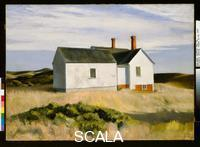 Hopper, Edward (1882-1967) Ryder's House, 1933. Oil on canvas, 36 1/8 x 50 in. (91.6 x 127 cm).