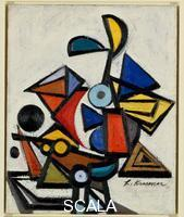 Krasner, Lee (1908-1984) Composition, 1943